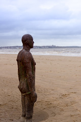 IMG_4117 (Sympathetic Fire) Tags: beach liverpool crosby antonygormley anotherplace crosbybeach