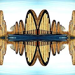 2016-04-27 pont de Villers symtrique (april-mo) Tags: art experimental symmetry symmetric experimentalphoto experimentaltechnique
