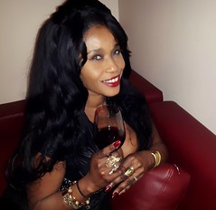 Wine with Sabine Mondestin (Sabine Mondestin) Tags: smile wine drink wineandcheese lips alcohol funtimes ebony sexywomen smilinggirls wineparty sexyblackgirls sexyebony sabinemondestin queensabine sexyqueensabine