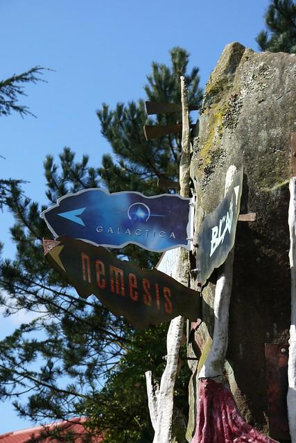 Nemesis and Galactica - signage