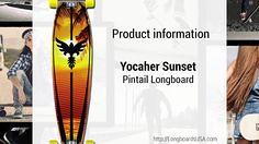 Yocaher Sunset Pinta (longboardsusa) Tags: sunset usa skate skateboards pinta longboards longboarding yocaher