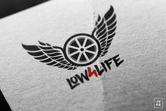 ID - Low4Life (Joo Vitor Ferraz) Tags: cars photoshop logo design artwork tuning branding identidade youtube low4life