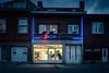 Le Salon Lavoir... (Gilderic Photography) Tags: liege belgium belgique belgie shop grivegnee laundry light lumiere dark canon g7x gilderic city ville neon