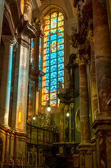 Colors (wwwdoniux) Tags: church stainedglass vu vitraas vjonbanyia smcpentaxfa31mmf18allimited vilniausuniversitetas pentaxk5iis