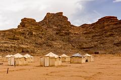 Jebel Rum Camp - Wadi Rum (BlueVoter - thanks for 1.3M views) Tags: camp sand desert wadirum tent jordan