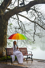 Umbrella (garylawson7) Tags: lake umbrella model vietnam sword hanoi h hon gm kim