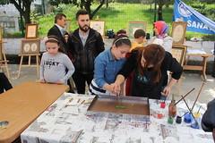 IMG_9230 (Objektife Düşenler) Tags: el mehmet bayrak tirebolu kutlu yüksek haftası meslek sergisi okulu sanatları dağum