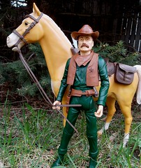 New Marshall in Town (atjoe1972) Tags: horse toys actionfigure diy cowboy marshall western marx 1960s 1970s custom wildwest murphy frontier botw 12inch thunderbolt oldwest johnnywest lawman bestofthewest 16thscale atjoe1972