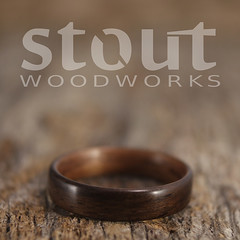 Indian Rosewood and Walnut (stoutwoodworks) Tags: wood wedding water one wooden engagement natural bend handmade indian grain walnut band craft jewelry steam ring kind rings strong handcrafted steamed bent alternative lining stout ecofriendly rosewood lined durable woodworks 4mm bentwood