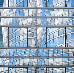 France - Paris - La Defense - Skyscraper Reflections 09 - v3 sq (Darrell Godliman) Tags: reflection reflections squares ladefense squareformat sq modernarchitecture contemporaryarchitecture bsquare franceparisladefenseskyscraperreflections09v3sq