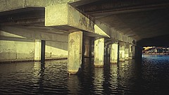 Let's go under the bridge  #pictureholic #new #youngphotographer #meandmycamera #followme #lake #bridge #adventures (miyaprince) Tags: new followme meandmycamera youngphotographer pictureholic