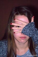 _DSC0169 (Lorenzo Luzi) Tags: portrait eye girl beautiful night retrato young shy portraiture ritratto ragazza