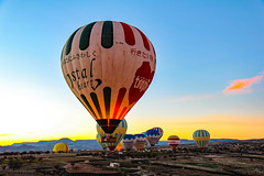 early morning adventure (werner boehm *) Tags: hot turkey air ballooning cappadocia kappadokien wernerboehm