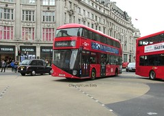LT62, Oxford Circus, London, 22/04/16 (aecregent) Tags: london wright 12 hybrid lt oxfordcircus londongeneral goahead nb4l nbfl newroutemaster goaheadlondon lt62 newbusforlondon borismaster 220416 ltz1062 londonbuses2016