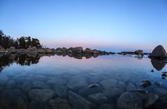 Serene eve (Antti Tassberg) Tags: sea night dark landscape spring helsinki lowlight nightscape shore serene bluehour tranquil lauttasaari y kevt laru tyyni