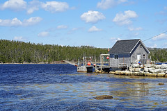 NS-00543 - Shad Bay Shack (archer10 (Dennis) (73M Views)) Tags: canada novascotia sony free dennis jarvis iamcanadian mirrorless freepicture dennisjarvis archer10 dennisgjarvis alpha7ii 24240mm