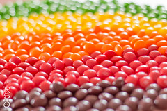 Skittles (radpix.ninja) Tags: original red orange macro green yellow lemon strawberry purple candy depthoffield lime multicolored skittles grape fruity