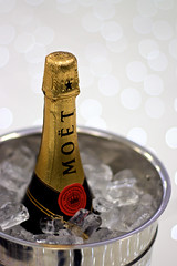 MOT (cchana) Tags: white ice silver gold bucket bottle dof drink bokeh anniversary champagne bubbles celebration alcohol seal f18 fizzy fizz sealed motchandon moet mot