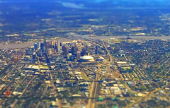 nola tilt shift (Hoo Dat) Tags: neworleans nola superdome tiltshift