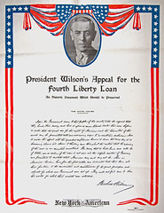 President Wilson's Loan Appeal (Madison Historical Society) Tags: old usa history museum newspaper interesting nikon image connecticut interior military country wwi picture newengland ct indoor worldwari madison historical inside greatwar firstworldwar mhs conn 1stworldwar d600 bostonpostroad nikond600 leeacademy madisonhistoricalsociety connecticutscenes madisonhistory bobgundersen