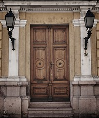 Just a door (Gbor Felfldi) Tags: street door old color photography photo hungary outdoor traditional budapest streetphotography
