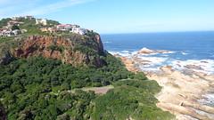 Knysna Heads (Rckr88) Tags: ocean africa travel sea cliff mountain mountains green nature water southafrica coast south cliffs coastal greenery coastline gardenroute knysna westerncape rockycoastline knysnaheads