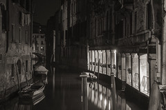 Venice at Night 3 (Helmut J. Wresnik) Tags: none