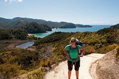 Fin de la journe (MaryzLemieux) Tags: newzealand nationalpark hiking solo abel tasman greatwalks