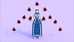 Toriel b (pb0012) Tags: game monster video lego character goat indie videogame ldd goatmom indiegame toriel undertale