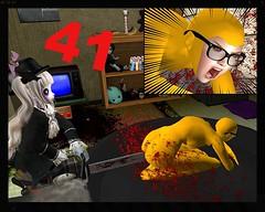 10041jiruetto (dorothymagic) Tags: kill egg chainsaw horror 41