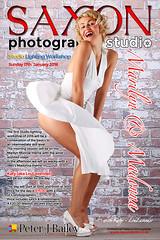 Saxon Photography Studio Sandbach - Studio Lighting Workshop - Marilyn & Madonna Theme (Peter J Bailey - Saxon Studio) Tags: lighting portrait marilyn studio photography model katy madonna sunday january munroe workshop theme 1980 17th saxon 2016 sandbach peterjbailey loulavender