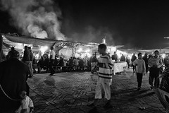 eat eat eat ... (enzo marcantonio) Tags: africa street leica city travel people blackandwhite bw food night work square outside smog holidays place market outdoor streetphotography eat enzo marocco marrakech souk streetphoto q streetfood summilux ethnicity jamaaelfna marcantonio leicaq enzomarcantonio