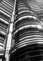 Petronas Twin Towers (gjaviergutierrezb) Tags: bw