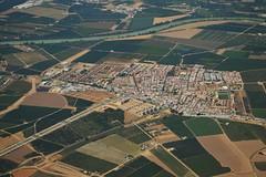 LA RINCONADA (SEVILLA) (DAGM4) Tags: espaa sevilla spain europa europe pueblo seville andalucia campo andalusia espagne vistaaerea naranjos larinconada rioguadalquivir surdeespaa provinciadesevilla vegadesevilla