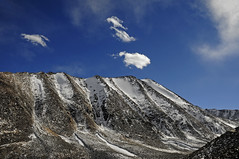 The Khardungla Pass and the Flank, Ladakh, India (Anoop Negi) Tags: road travel winter cloud india photography photo day pass sunny leh anoop ladakh khardungla negi flank khardung ezee123 partapur