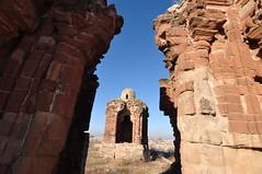 Ruins through Ruins (Asif Saeed [....DOCUMENTING PAKISTAN...]) Tags: old history ruins temples punjab hindu archeology mallot asifsaeed wintertravelinpakistan historicbuildings