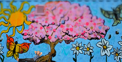 Tree's Company (eddi_monsoon) Tags: portrait selfportrait self mural 365 selfie threesixtyfive