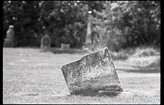 St. Andrew's Presbyterian, King Township Concession 10 (Richard Wintle) Tags: ontario canada film cemetery grave graveyard 35mm king asahi pentax headstone tombstone gravestone spotmatic standrews 135 f28 presbyterian saintandrews 135mm bushnell spotmaticf adox adonal kingtownship film:iso=400 concession10 10thconcession developer:brand=adox adoxadonal film:brand=freestylearista film:name=freestylearistapremium400 developer:name=adoxadonal freestylearistapremium400 filmdev:recipe=10267