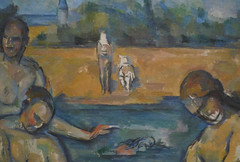 Cézanne, The Large Bathers (detail), 1906