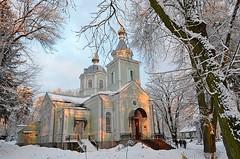 Храм прп. Серафима Саровского в Пуще-Водице