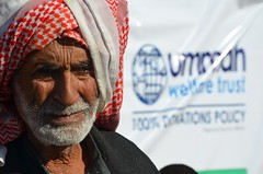 A displaced elder in Baghdad who had fled fighting in Anbar (Ummah Welfare Trust) Tags: poverty charity winter children islam iraq relief aid baghdad syria muslims development erbil humanitarian anbar humanitarianism