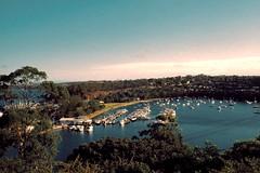 sydney (amber.adley) Tags: ocean water analog 35mm boats nikon sydney australia
