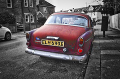 in the very pink of the mode (Sunshine Soon) Tags: volvo reddot volvoamazon inthepink