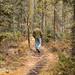 Caminhada pela floresta