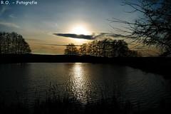 Sonnenuntergang / Sunset (R.O. - Fotografie) Tags: sunset sea seascape water lumix see wasser sonnenuntergang outdoor wolken panasonic fz 1000 dmc blaue stunde fz1000 dmcfz1000