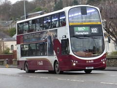 375 - SN11 ECV (Cammies Transport Photography) Tags: road bus buses eclipse volvo coach edinburgh rugby murrayfield wright gemini lothian ecv specials 375 corstorphine x12 sn11 sn11ecv