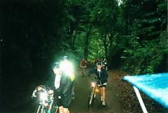 Haig Hall - recumbent (flowerpotman!) Tags: film manchester cycling 2000 kodak scan cc cycle trans blackpool pennine transpennine tpcc