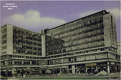 Old Bradford (Charlie-B (Photos)) Tags: street old white black bus green square town hall bradford clayton great picture tram trains images foster photographs horton 1960s pubs 1970s 1980s 1990s morley heaton charlieb lidget