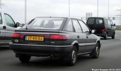 Toyota Corolla Liftback 1.6 XLi automatic 1991 (XBXG) Tags: auto old holland classic netherlands car japan asian japanese automobile outdoor nederland voiture automatic toyota vehicle 1991 16 paysbas japon a2 corolla ancienne asiatique toyotacorolla bva japonaise liftback xli sidecode4 zt40dj