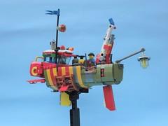 Ramona 05 (JPascal) Tags: boat flying lego